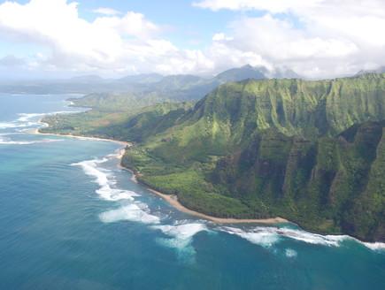 האי קאוואי, מפל הדמעות קרדיט elizabethannedesigns.com