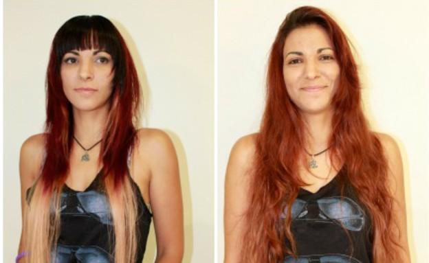 דנה שניצר- מייקאובר לשיער (צילום: אבי רחמים/ רוני זיידל)