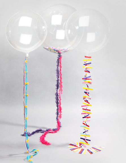 bonbonballoons בלונים, קונפטי (צילום: bonbonballoons)
