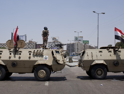 צבא מצרים (צילום: Ed Giles, GettyImages IL)
