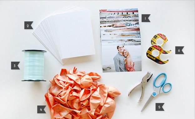 www.weddingchicks בלונים, כלי עבודה (צילום: www.weddingchicks בלונים)