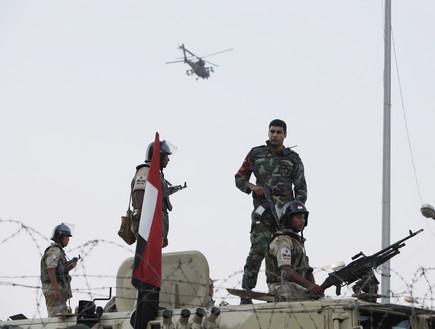 חיילים מצרים (צילום: Ed Giles, GettyImages IL)