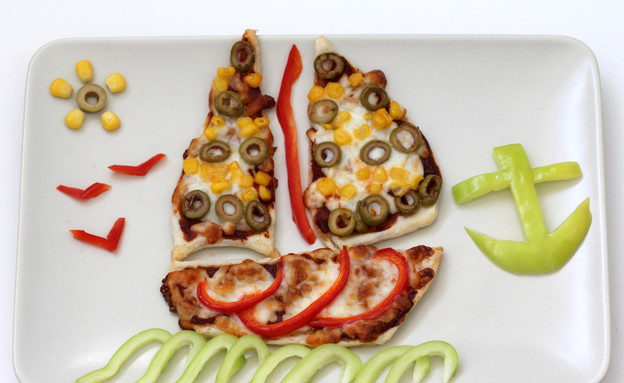 פיצה סירת מפרש (צילום: אוכל טוב)