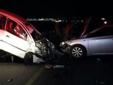 זירת התאונה בצפון (צילום: שלומי דהן, חדשות 0404)