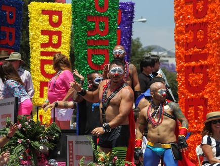 מצעד הגאווה בלוס אנג'לס (צילום: אימג'בנק / Gettyimages)