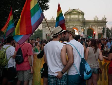 מצעד הגאווה במדריד (צילום: אימג'בנק / Gettyimages)