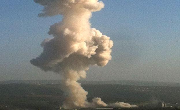 """ישראל תקפה"". אילוסטרציה (צילום: סער אלגרבלי)"