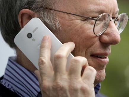 """יו""""ר גוגל, אריק שמידט מדבר במוטו X"""