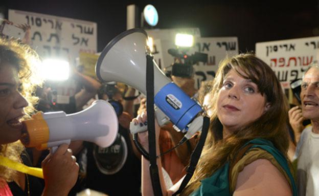 המחאה החברתית חזרה לתל אביב (צילום: ירדן מן, mako)