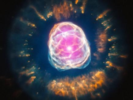 ערפילית אסקימו (צילום: NASA)