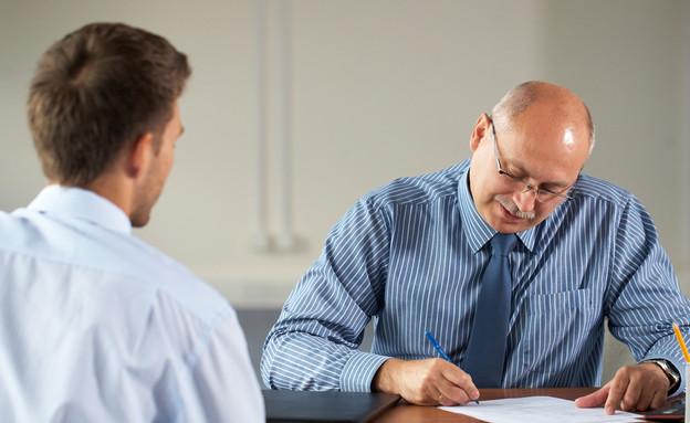 ראיון עבודה (צילום: Thinkstock)