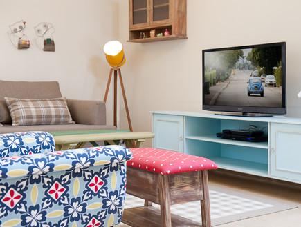 בית באורנית, סלון טלוויזיה