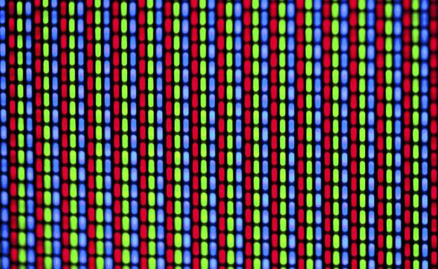 תמונה מפוקסלת בטלוויזיה (צילום: Thinkstock)