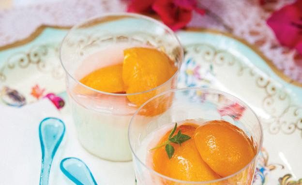 סיבות לאהוב את הקיץ - מעדן אפרסקים (צילום: אילון פז, על השולחן)