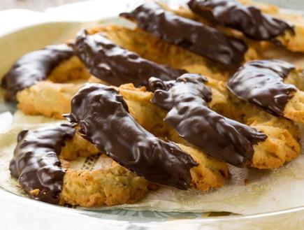 חישוקי שקדים ושוקולד (צילום: בני גם זו לטובה, אוכל טוב)