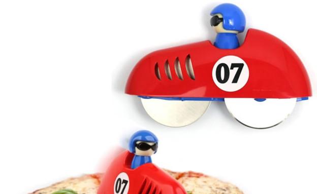 חותך פיצה, מכונית (צילום: www.neatoshop.com)