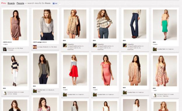 קניות ברשת, בגדים