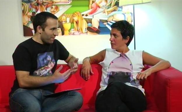 ענת צאיג בראיון ראשון (תמונת AVI: mako)