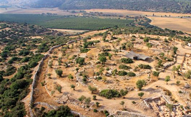ארמון דוד המלך בשפלת יהודה (צילום: חדשות 2)