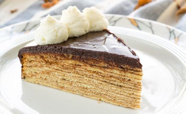 עוגת עץ (צילום: בני גם זו לטובה, אוכל טוב)
