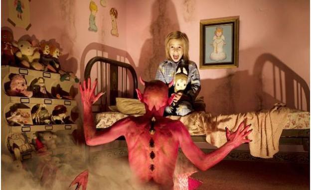 פרויקט פחדים - שטן (צילום: ג'ושוע הופין, צילום מסך מאתר joshuahoffine )