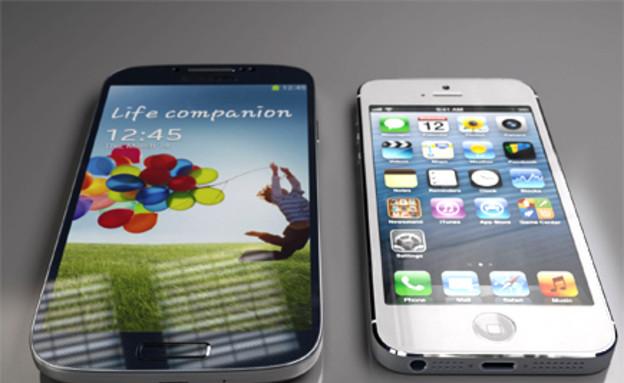 אייפון 5, גלקסי S4