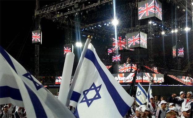 """נתניהו לספורטאים: """"ירושלים היא בירת הנצח"""" (צילום: יוסי זילברמן, חדשות 2)"""
