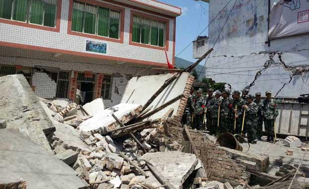 לפחות 47 הרוגים ברעידת אדמה. ארכיון (צילום: AP)