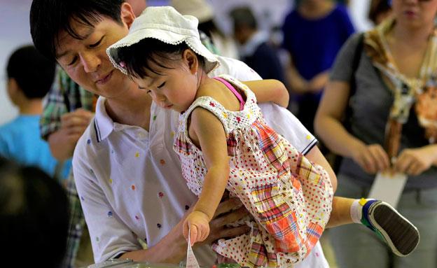 בחירות ביפן (צילום: חדשות 2)