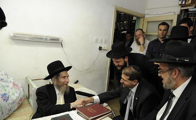 הרב אהרון לייב שטיינמן (צילום: Matanya, ויקיפדיה)