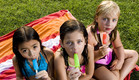קיץ, ילדים, קרטיב, ארטיק, החופש הגדול (צילום: Purestock, GettyImages IL)