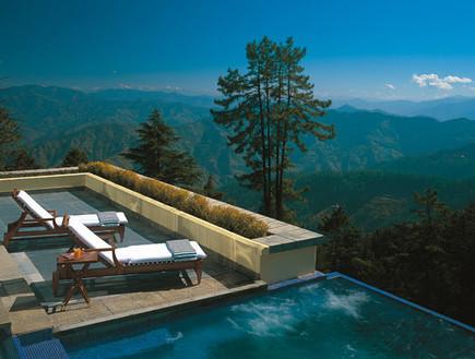 oberoihotels.com בריכות פרטיות, מלון בשימלה, הודו (צילום: oberoihotels.com)