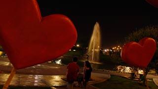 על אהבה וי (צילום: רויטרס)