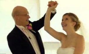 ריקוד חתונה אב ובת- ריקוד אחרון (צילום: dailymail.co.uk)