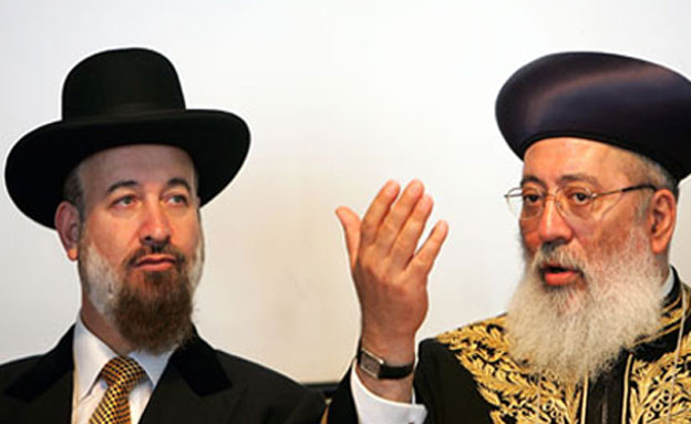 הרבנים היוצאים מצגר ועמאר. מה הם עושים? (צילום: חדשות 2)