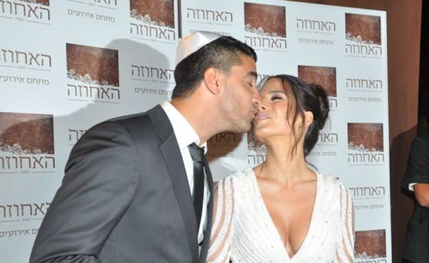 משה וירדן מתנשקים (צילום: צ'ינו פפראצי)