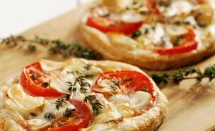 פיצה אישית על בצק עלים (צילום: istockphoto)