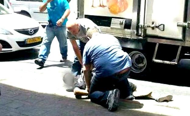 מעצר חשודים פיגוע בר נוער (צילום: חדשות 2)