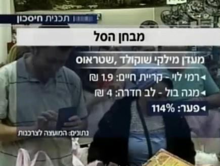 כמה עולה מילקי (צילום: חדשות 2, אוכל טוב)