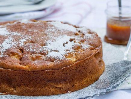 עוגת דבש חגיגית עם ציפוי קרמל (צילום: בני גם זו לטובה, אוכל טוב)