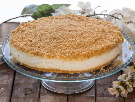 עוגת גבינה פירורים ללא אפייה (צילום: בני גם זו לטובה, אוכל טוב)