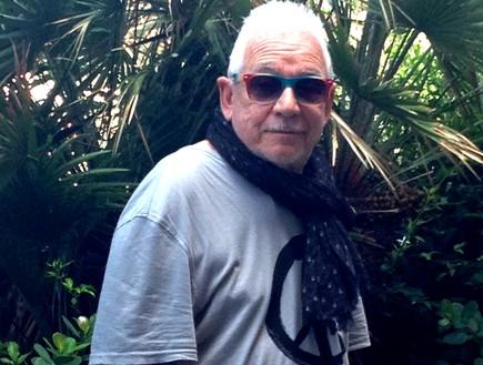 אריק ברדון בישראל (צילום: הדר זילברשטיין)