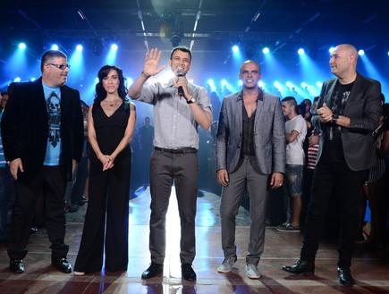יום האודישנים הגדול נבחרת השופטים של הכוכב הבא (צילום: רונן אקרמן)