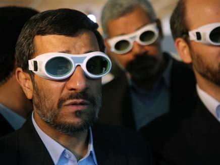 הנשיא היוצא, מחמוד אחמדניג'אד (צילום: AP)
