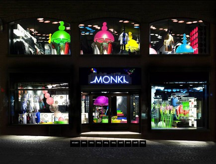 חנויות בגדים, מונקי חוץ (צילום: blog.reflexdeco.fr)
