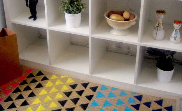 שטיח איקאה, מוכן3 (צילום: דידי רפאלי)