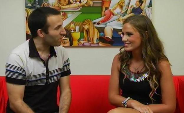דידי בראיון הדחה ראשון (תמונת AVI: mako)