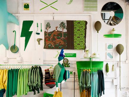 חנויות בגדים, בנטון ירוק (צילום: www.benetton.com)