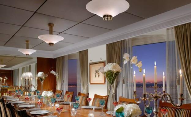 חדר אוכל, הסוויטה היקרה בעולם (צילום: travel.yahoo.com)
