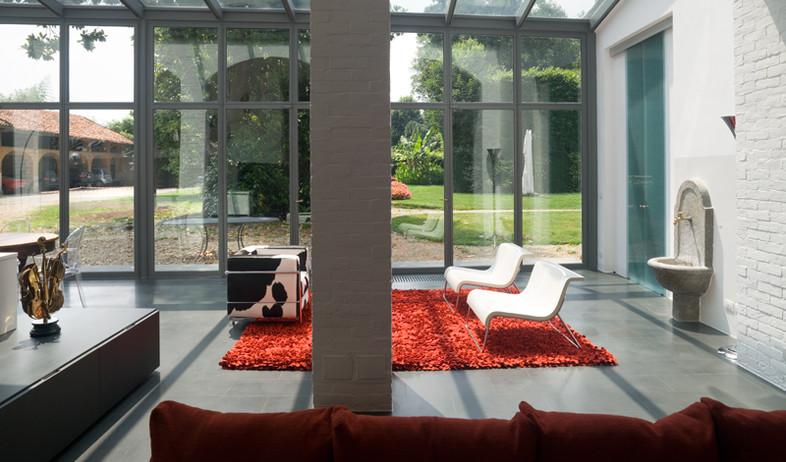 אנטונלה, סלון שטיח (צילום: Mario Ciampi)